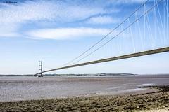 Humber Bridge (Have Cam Will Travel.) Tags: landscape humberbridge bridges