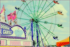 vintage_hues (gerhil) Tags: travel festival event vintage fun family memorable ferriswheel activity holiday tradition polaroid amusement entertainment leisure recreation summer july2017 nikcolorefexpro4 1001nights 1001nightsmagiccity