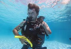 18 26a (KnyazevDA) Tags: diver disability disabled diving undersea padi paraplegia paraplegic amputee egypt handicapped wheelchair aowd sea travel scuba underwater redsea