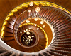 Heals Spiral Staircase (Bernhard Sitzwohl) Tags: spiral staircase wood heals lightbulbs spiraling down store london uk city urban