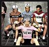 1968 GIRO Three Italians and One Belgian (Sallanches 1964) Tags: giroditalia 1968 pinkjersey magliarosa eddymerckx faema roadcycling campionissimo