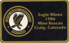 img590 (Coalminer5) Tags: coalmining coalminer coalmemorabilia coalcollectibles coal mining miningmemorabilia miningcollectible miningartifacts decal drager draeger dragerman draegerman sticker minerescue minerescuecontest minerescuecompetition smokeeaters smokeeater empireenergy eaglemines craigco craigcolorado eagle