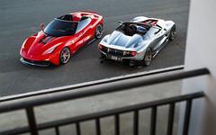 2of2 (Alex Penfold) Tags: ferrari f12 trs supercars supercar super car cars autos alex penfold 2017 spain monte blanc chrome red