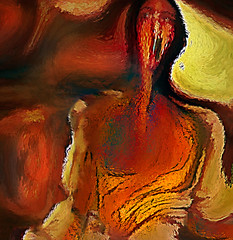The Scream 2017 (from Munch) (D'ArcyG) Tags: munch thescream abstract impressionism distortion vivid photoart commentary reflection art painterly paint