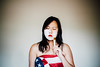 261/365 Americanization (Emily Moy Photography) Tags: america usa white whitewashing americanization people controversy conversation rights portrait politics paint american flag 365 365project canon emotion feeling cinematic emilymoyphotography emilymoy selfportrait