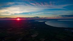 Powerful Sunset (D.B Ariel Photography) Tags: rosslare tagoat wexford ireland sunset sea drone dji djiphantom3pro arielphotography