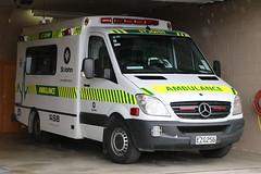 EZG 256 (ambodavenz) Tags: mercedes benz 318cdi sprinter ambulance vehicle oamaru north otago new zealand