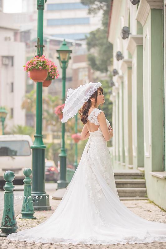 門大三巴,戀愛巷,威尼斯人,海外婚紗,澳門婚紗