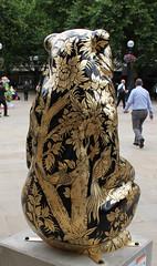Goldie Rear (ahisgett) Tags: birmingham children's hospital charity wild art big sleuth 2017 bearmingham bear