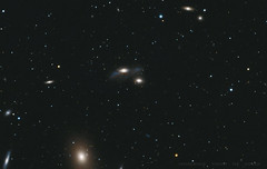 The Eyes Galaxies (NGC 4435-NGC 4438) (Delberson Tiago) Tags: astrofoto astrophotography cosmos universe galaxy eyes galáxias astronomy amateur astrofotografia astrometrydotnet:id=nova2102056 astrometrydotnet:status=solved