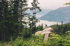 Howe Sound (Cam Pasternak) Tags: nikon howe sound bc canada vancouver mountain biking trails rock slab nature pnw d5100 brittania beach