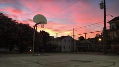 Hoop Dreams🌅 (tannergarrity) Tags: bubblegum candysky cottoncandy summersky basketballhoop hoop court streetball neworleans nola pinksky pink sunset basketball