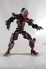 sektor (vicent steffens (gerou 100)) Tags: lego ketchup sektor figure action creation custom cyborg mortal kombat