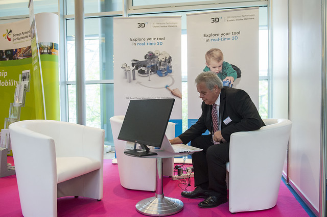 3D Interaction Technologies stand