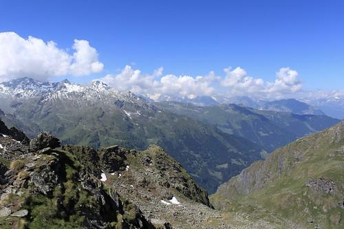 Depuis le Col du Bec d'Aigle 2567 mètres