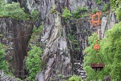 Vivian Quarry (Sylvia Slavin ARPS (woodelf)) Tags: slate quarry dinorwic vivian wales cymru bogey cart pulley