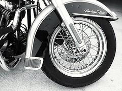 Heritage~ (K.Chris ~AlwaYs LeaRning~) Tags: contrast harleydavidson motorcycle bw monochrome blackandwhite tire wheel engine motor heritagesoftail bike
