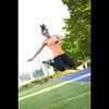 * (Henrik ohne d) Tags: eos5dmk2 ef85mmf18 may2017 portrait sanita athlete sporty jump hangtime