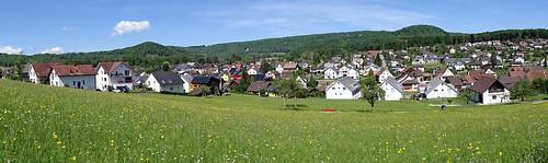 Panorama Gemeinde Lupsingen