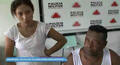 Amantes são presos por fazer sexo perto de crianças em Machado, MG (portalminas) Tags: amantes são presos por fazer sexo perto de crianças em machado mg