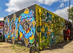 Artist's Self Expression (Explore) (Kool Cats Photography over 8 Million Views) Tags: art mural painting grafitti