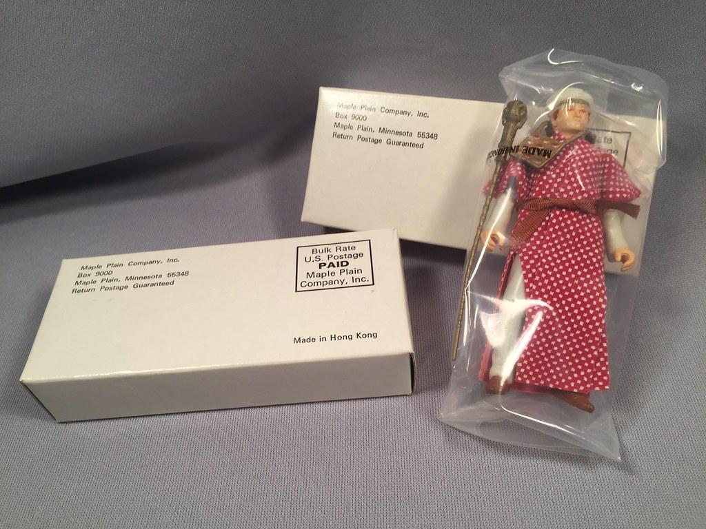 21ba837c5ba MIB Belloq in Ceremonial Robe Mail Away Premium (toyfun4u) Tags  kenner belloq  ceremonial. Indiana Jones  ...