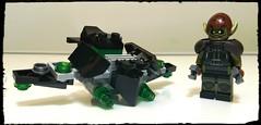 The Green Goblin (KreePverse) (Korpsical666) Tags: greengoblin norman osborn marvel lego minifigure custom villain toys creepy