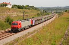 IC 510 - Paialvo (valeriodossantos) Tags: comboio cp train passageiros 5600 corail sorefamesrenovadasic locomotivaelétrica carruagem intercidades ic cplongocurso rápido paialvo tomar linhadonorte caminhosdeferro portugal