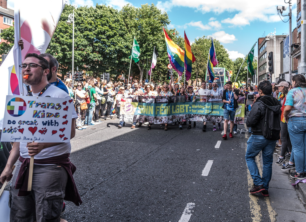 LGBTQ+ PRIDE PARADE 2017 [ON THE WAY FROM STEPHENS GREEN TO SMITHFIELD]-130124