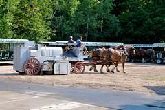 1-082 Street Sweeper (megatti) Tags: carriage horse mackinacisland mi michigan streetsweeper