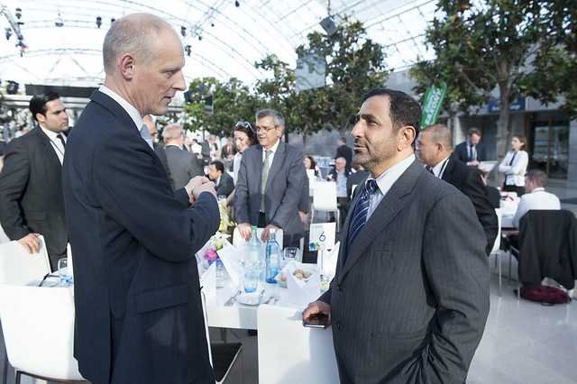 Michael Kloth with Abdullah Salem Al Katheeri