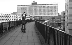 The shot (harrytaylor6) Tags: newcastle tyne urban brutalism street monochrome architecture 60s modernism modernist modern tonal