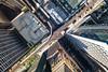 Around the Elevated Bend (jeff_a_goldberg) Tags: aerialphotography summer drone cta dji mavic outofchicago chicago l elevatedtrain traintracks trainstation djimavicpro mavicpro train