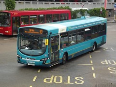 310 = 10: Arriva Harlow Volvo B7RLE/Wright Eclipse 2 KX11PZY (3881) Harlow Bus Station 27/06/17 (TheStanstedTrainspotter) Tags: bus buses harlow public transport publictransport harlowbusstation arrivaharlow networkharlow volvo b7rle volvob7rle wrightbus eclipse urban wrighteclipse2 wrighteclipseurban kx11pzy 3881