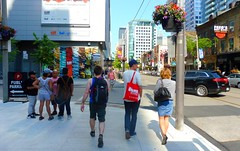 """Toronto - one of the most livable and multicultural urban places in the world"""" (Trinimusic2008 - offline for a bit) Tags: trinimusic2008 judymeikle urban city kingst candid today june 2017 toronto to ontario canada"""