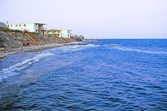 High Tide (AntyDiluvian) Tags: capecod massachusetts dennisport beach tide hightide seawall motel