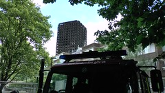 Grenfell Tower HD (ChiralJon) Tags: london charred remains fire incident building flats gb news architecture londres londra noticias nouvelles borough kensington londen nieuws notizia tribute flowers missing persons community feu hd video grenfell tower