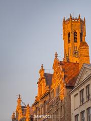 P3110103 (Eric Santucci) Tags: bruges belfort belfry brügge building city belgium architecture grotemarkt mainsquare