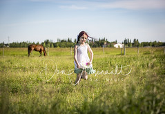 Run Like No One is Watching! (Don Arsenault) Tags: girl child play action field landscape albertacanada canonef70200mmf28lisiiusm donarsenault canoneos5dmarkiii horse