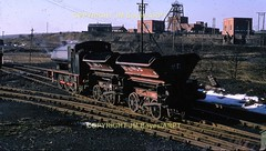 1969 25 Marley Hill NCB 0-6-0ST No.83 Hunslet Engine Co. No.3688 of 1948 shunting spoil wagons 4031969 JM BoyesARPT (Ernies Railway Archive) Tags: ncb marleyhillcolliery tanfieldrailway