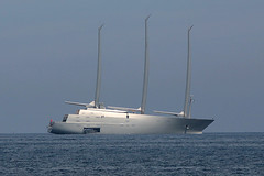 SAILING YACHT A (Maillekeule) Tags: sailing yacht andrey melnichenko philippe stark