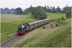7812 Earlstoke Manor climbing Eardington Bank, Severn Valley Railway (Keith Halton) Tags: svr severnvalleyrailway bridgnorth eardington gwr steam railway shropshire