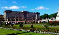Palacio de Buckingham (mnovela2293) Tags: palacio cielo azul nubecitas jardinesflores desfile parque londres buckingham