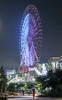 Ferris wheel of a half moon (sapphire_rouge) Tags: tokyobay お台場 東京 高層ビル coast nightview 湾岸 臨海副都心 japan venusfort 観覧車 ferriswheel