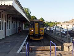 153372 Liskeard (5) (Marky7890) Tags: gwr 153372 class153 supersprinter liskeard 2l34 railway cornwall train looevalleyline