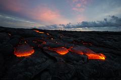 Surprise Color (Raiatea Arcuri) Tags: kilauea lava flow 61g kamokuna hawaii bigisland volcano hawaiivolcanoesnationalpark kalapana