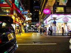 Day and Night in Tsim Sha Tsui - Night Time (ThisisMandyC) Tags: citysnap nightlife hongkong tsimshatsui canonpowershotg11
