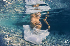Underwater new life (Lopresti Davide) Tags: unde model pregnant maternity life newborn newlife nikon sigma nimar inon 5terre cinqueterre maternitànascita pace underwater sea sunset