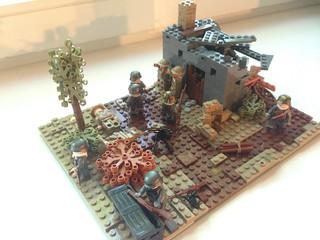 Taking prisoniers- march 1918