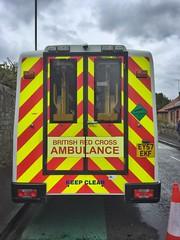 Iveco Daily 65c18 C/c/MMB (barronr) Tags: doune scotland ambulance treatment firstaidpost efa britishredcross stirlingmarathon running help